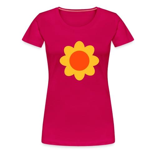 Girlieshirt pink - Frauen Premium T-Shirt