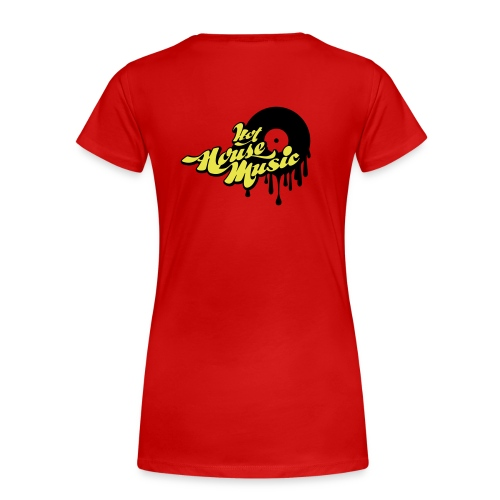 D-FliPp's Girly Shirt - Vrouwen Premium T-shirt