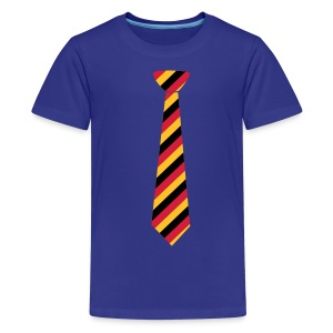Sky Krawatte Kinder Shirts - Teenager Premium T-Shirt