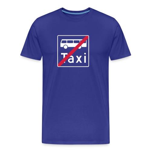 buss og drosje? - Premium T-skjorte for menn