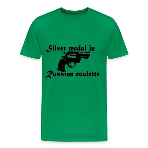 Russian roulette - Männer Premium T-Shirt