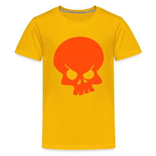 Asbo gear - kids T-shirt yellow/red - Teenage Premium T-Shirt
