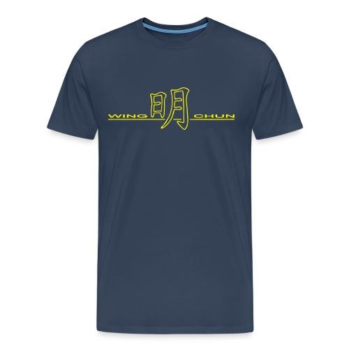 Wing Chun Trainingsshirt 2008-2009 XXXL - Mannen Premium T-shirt