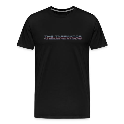 Taffinator BLACK XXXL Minute - Men's Premium T-Shirt
