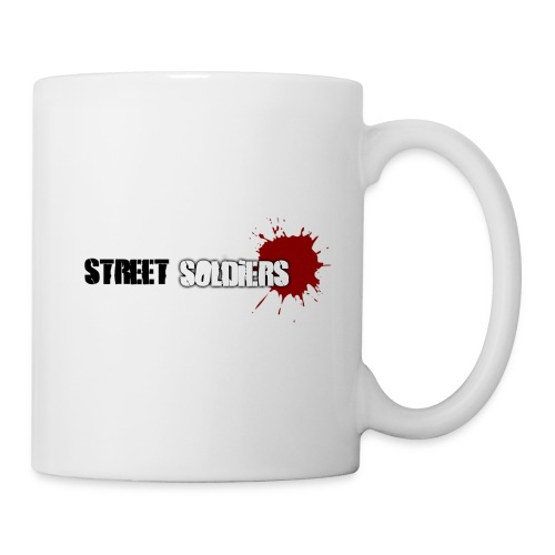 Tasse Matin street soldiers - collection été 2009 - Mug blanc