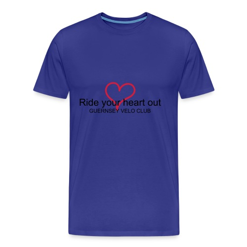 Mens Ride your heart out Tee - Men's Premium T-Shirt