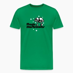 Grass Green Magic mushrooms T-Shirt