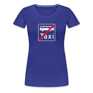 buss og drosje? - Premium T-skjorte for kvinner