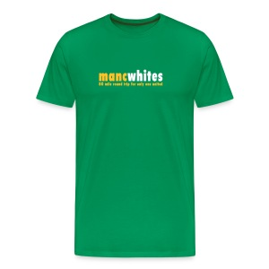 MANCWHITES 80 MILE ROUND TRIP FOR... - Men's Premium T-Shirt