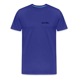 WAFLL II (YOUR OWN TEXT & NUMBER) - Men's Premium T-Shirt