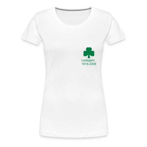 Remembrance Ledegem Shamrock logo - Women's Premium T-Shirt