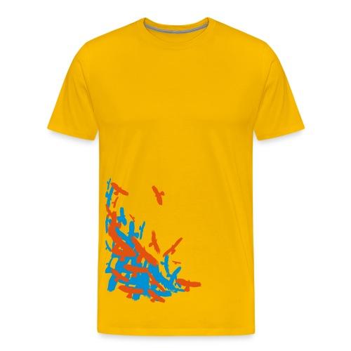 BIRDS - Men's Premium T-Shirt