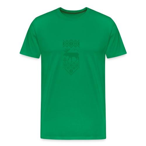 Selbu elg - Premium T-skjorte for menn