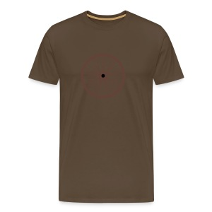 Chocolate Wheel - Premium-T-shirt herr