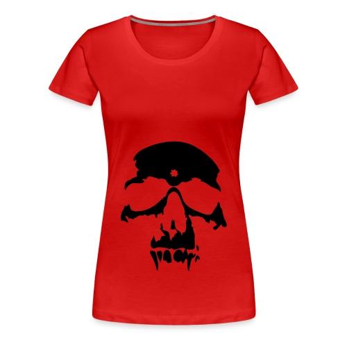 Skull - Premium-T-shirt dam