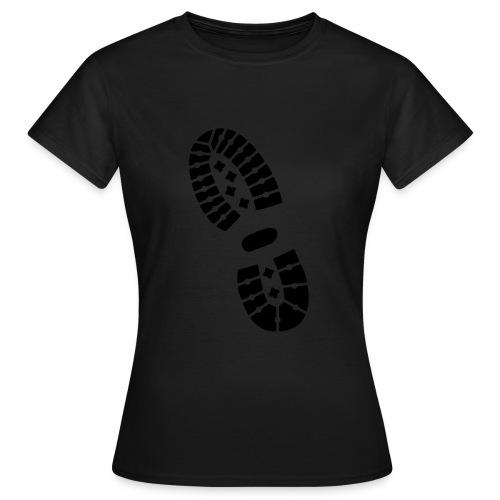 dirty army t-shirt legerkisten - Vrouwen T-shirt