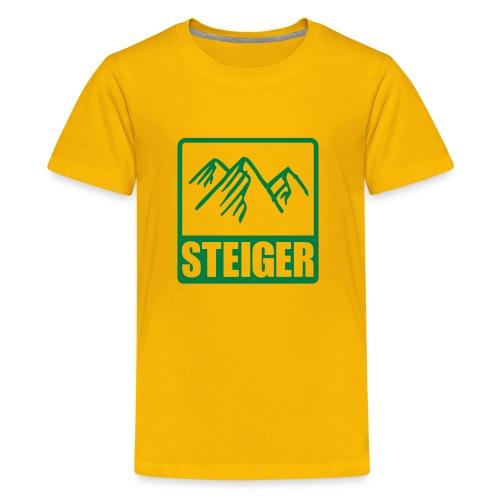 Kids T-Shirt Bergsteiger - Teenager Premium T-Shirt