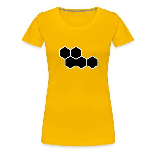 Hexagon - Women's Premium T-Shirt