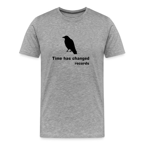 Classic crow shirt  Confort (grey 2 men) - Men's Premium T-Shirt