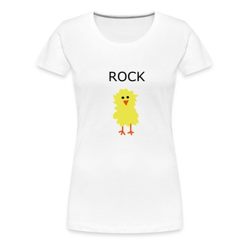 ROCK CHICK - Women's Premium T-Shirt