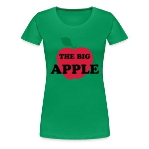 The big apple - T-shirt Premium Femme