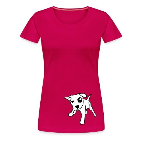 Shirt Doggie - Frauen Premium T-Shirt