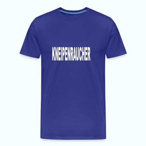 KNEIPENRAUCHER  - Men's Premium T-Shirt