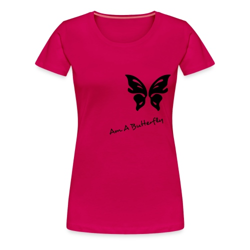 butterfly shirt for girls only - Women's Premium T-Shirt
