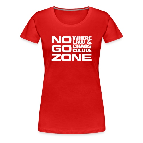 NGZ Logo Women's T - Red - Women's Premium T-Shirt