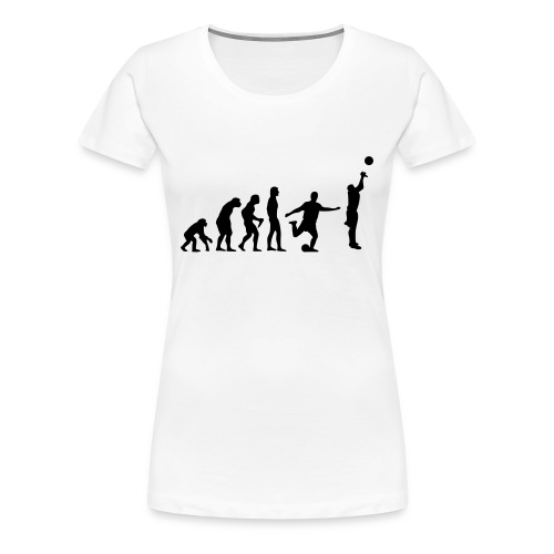 bball evolution [bsc] - Frauen Premium T-Shirt