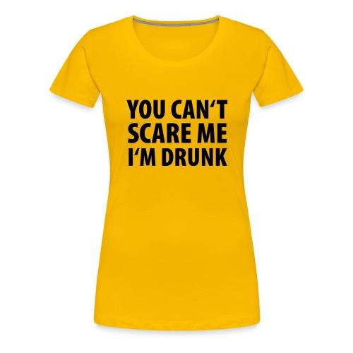 Premium-T-shirt dam - Klockren krog t-shirt