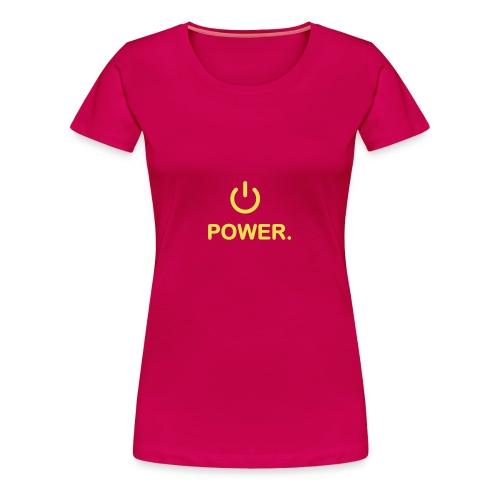 Motorrad-Power Shirt für Biker Barbys - Frauen Premium T-Shirt