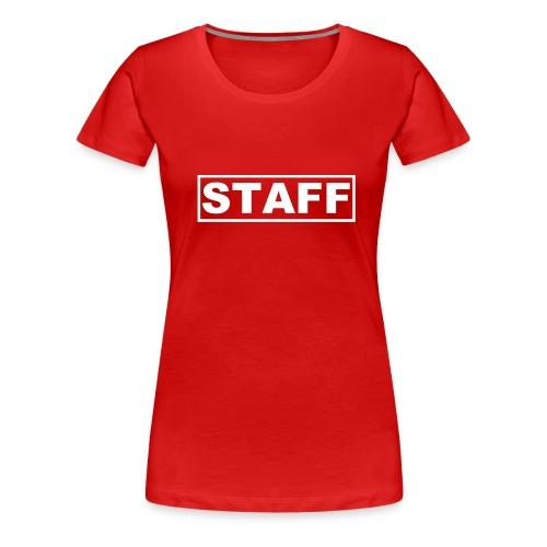 Staff - Women's Premium T-Shirt