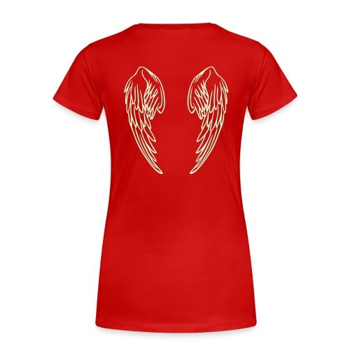 Angel Wing T-Shirt - Women's Premium T-Shirt