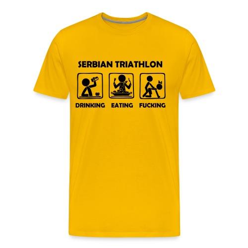 serbian  - T-shirt Premium Homme