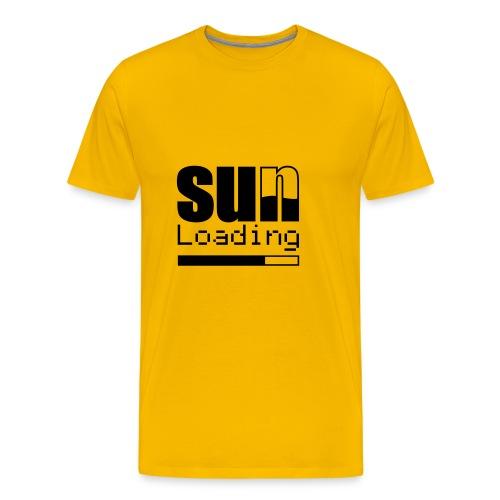 Sun Load(back and front) - Men's Premium T-Shirt