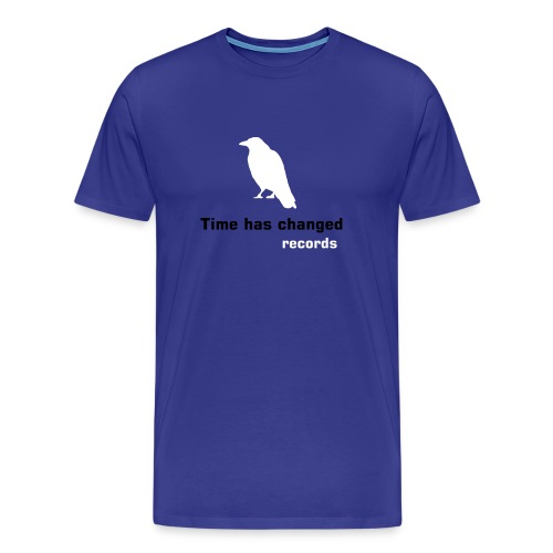 Classic crow shirt  Confort (blue 2 men) - Men's Premium T-Shirt