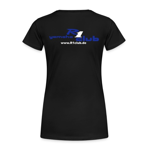 Girlieshirt R6 mit persönlichem Namen - Frauen Premium T-Shirt