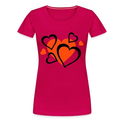 Heart attack - Frauen Premium T-Shirt