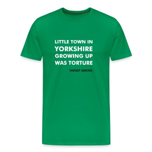 Instant Species Little Town In Yorkshire - Men's Premium T-Shirt