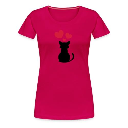 Love Cat - Women's Premium T-Shirt