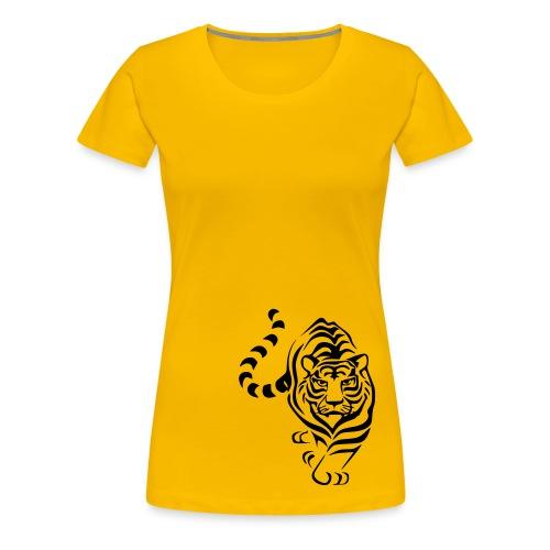 Shirt Tiger - Frauen Premium T-Shirt