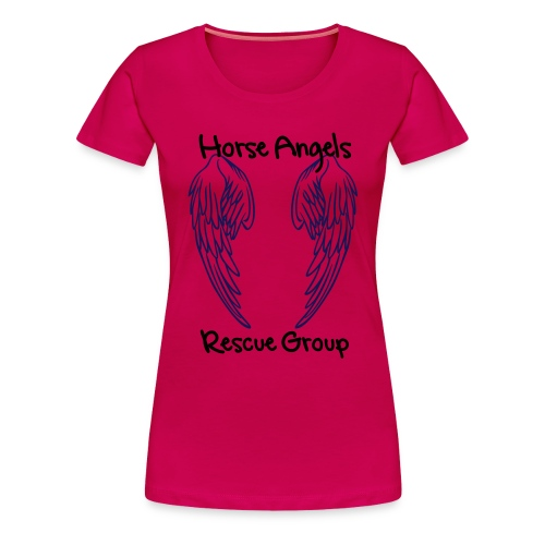 Horse Angels Official Member T-shirt - Women's Premium T-Shirt