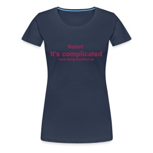 It's Complicated T-Shirt for Girls 2 - Frauen Premium T-Shirt