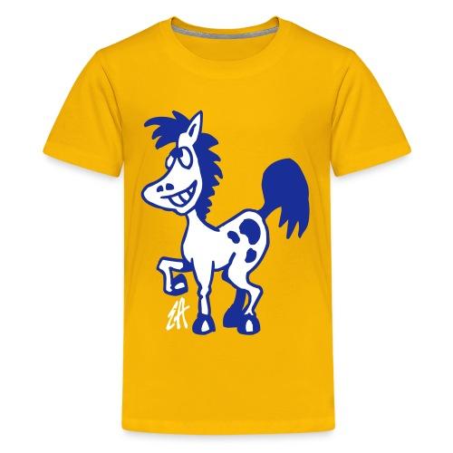Horse - Teenage Premium T-Shirt