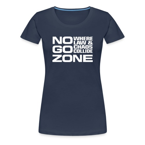 NGZ Logo Women's T - Blue - Women's Premium T-Shirt
