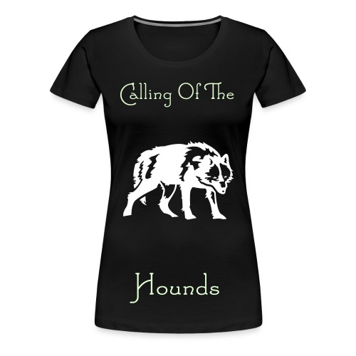 Womens Glow in the dark Calling - Women's Premium T-Shirt