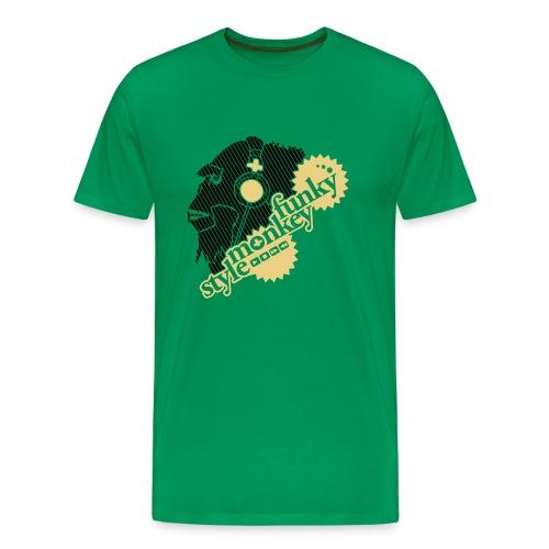 Funky Monkey Style - Mannen Premium T-shirt