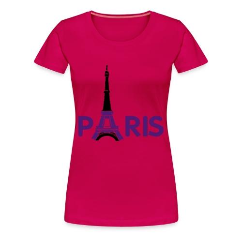 PAris PAris - Frauen Premium T-Shirt
