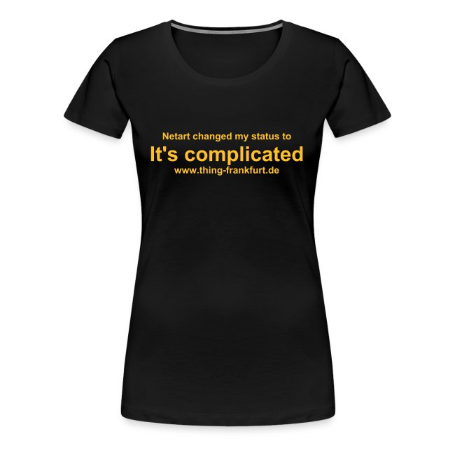 It's Complicated T-Shirt for Girls 1